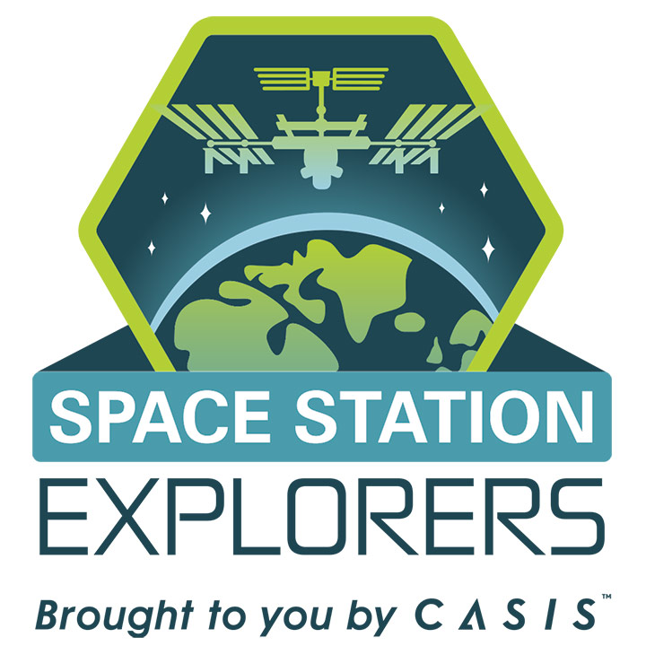 space station explorers logo